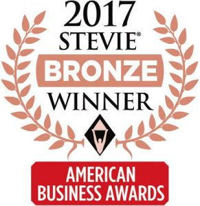 American Business Awards Stevie Bronze Winner