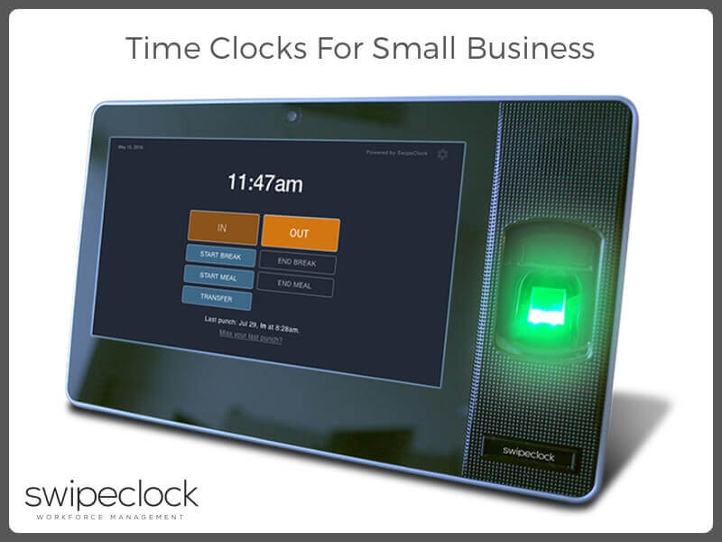 time clocks for small business
