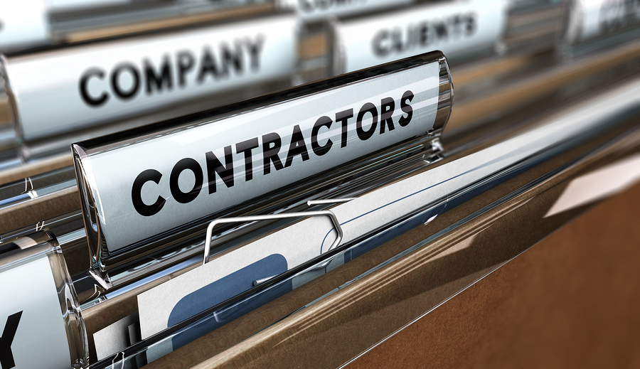 Mobile time keeping for subcontractors
