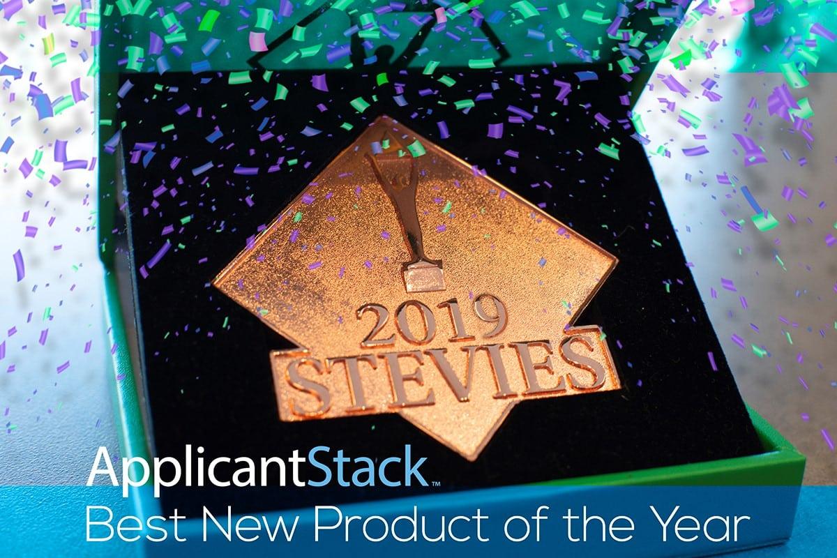 ApplicantStack Stevie Award