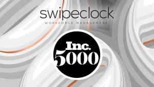 SwipeClock added to Inc5000 fastest growing companies