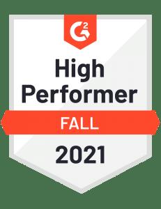 WorkforceHub G2 High Performer award